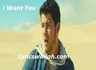 I Want You Song Lyrics